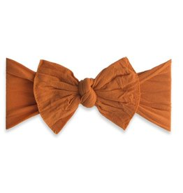 Baby Bling Knot Headband Pumpkin