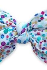 Baby Bling Printed DEB Headband Bright Bubbles