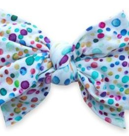 Baby Bling Printed DEB Headband Bright Bubbles