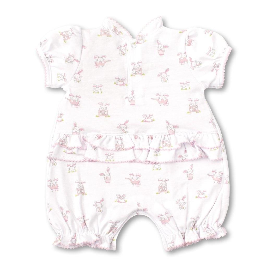 Kissy Kissy Bunny Buzz Short Playsuit Pink, 0/3M