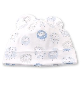 Kissy Kissy Shabby Sheep Hat Light Blue Stars, Small (0/3)