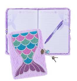 Three Cheers for Girls! Mermaid Plush Journal