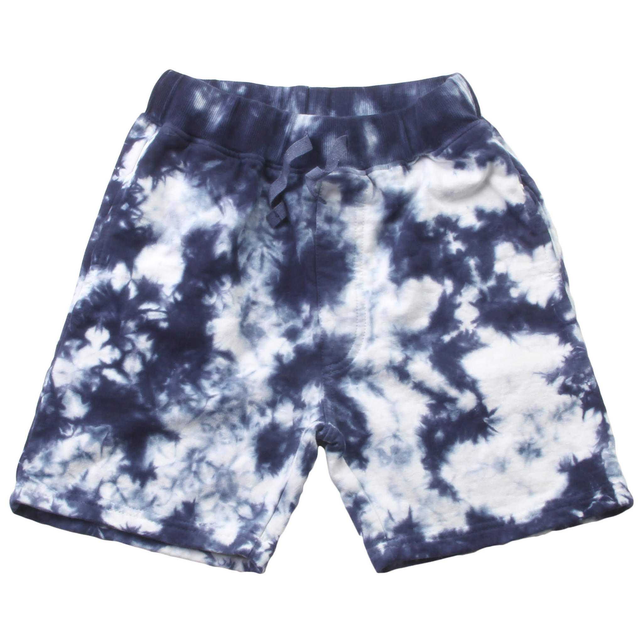 Wes And Willy Tie Dye Fleece Short Midnight