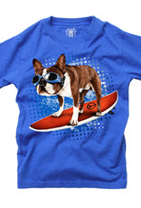 Wes And Willy Surfer Dog SS Tee Blue Moon Blend