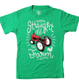 Wes And Willy Straight off the Farm SS Tee Clover