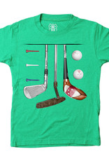 Wes And Willy Golf SS Tee Clover Blend
