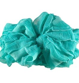 In Awe Couture Ruffle Headband Cool Mint
