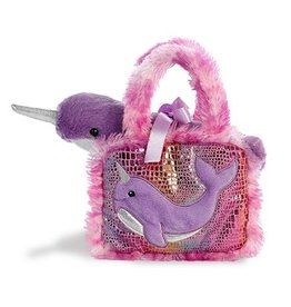 "Aurora 7"" Fancy Pals Narwhal Pet Carrier"