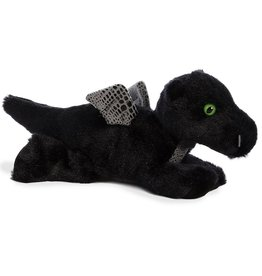 """Aurora 8"""" Midnight Dragon Mini Flopsie"""