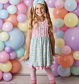 Serendipity Cotton Candy Dress w/ Capri Legging