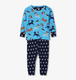 Hatley Playful Pups Organic Cotton Pajama Set