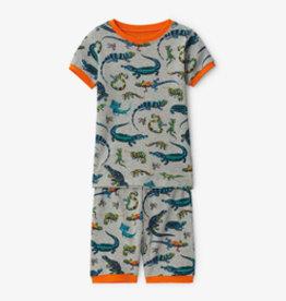 Hatley Rambunctious Reptiles Organic Cotton Short Pajama