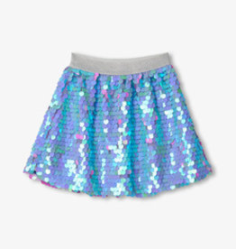 Hatley Opalescent Purple Sequin Skirt