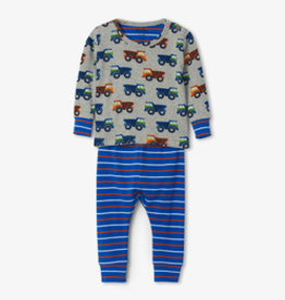 Hatley Dump Trucks Organic Cotton Pajama Set