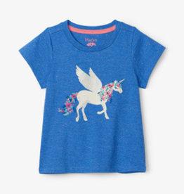 Hatley Mystical Unicorn Graphic Tee Granada Sky