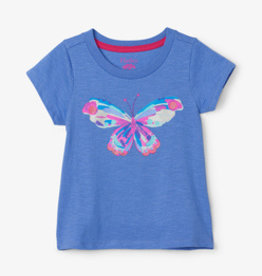 Hatley Soaring Butterfly Graphic Tee Jacaranda