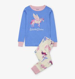 Hatley Mystical Unicorns Organic Cotton Pajama Set