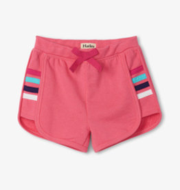 Hatley Retro Rainbow Shorts Pink Lemonade