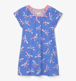 Hatley Dazzling Dragonflies T-Shirt Dress Granada Sky