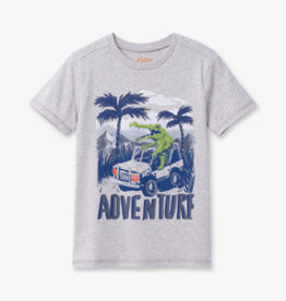 Hatley Jungle Adventure Tee Grey