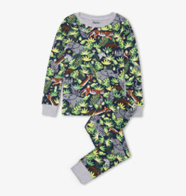 Hatley Jungle Safari PJ Set Blue