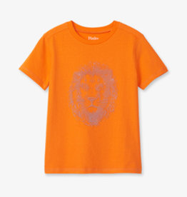 Hatley Majestic Lion Tee Orange