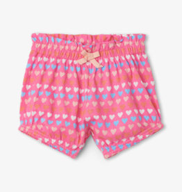 Hatley Tiny Hearts Baby bloomer Shorts Pink