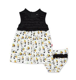 Magnificent Baby Pudgy Pineapple Modal Dress & Bloomer