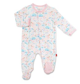 Magnificent Baby Sea of Splendor Modal Magnetic Footie