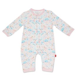 Magnificent Baby Sea of Splendor Modal Magnetic Coverall