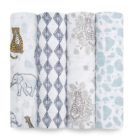 Aden & Anais Jungle 4-Pack Classic Swaddles