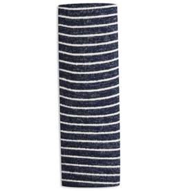 Aden & Anais Navy Stripe Snuggle Knit Swaddle Blanket
