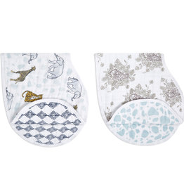 Aden & Anais Jungle 2-Pack Classic Burpy Bibs