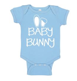 Sweet Wink Baby Bunny (Boy) Bodysuit Blue