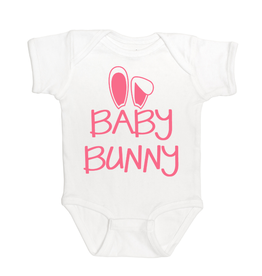 Sweet Wink Baby Bunny (Girl) Bodysuit White