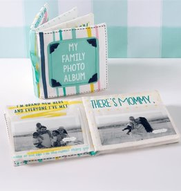 Mud Pie My Family Fabric Photo Album