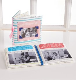 Mud Pie Grandma and Me Fabric Book