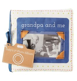 Mud Pie Grandpa and Me Fabric Book
