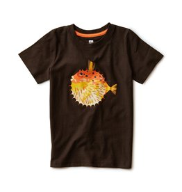 Tea Collection Blow the Pufferfish Tee Black