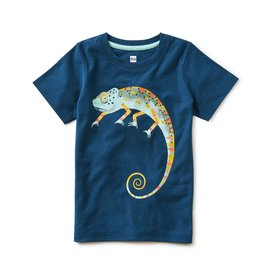 Tea Collection Cool As A Chameleon Tee Ascot Blue