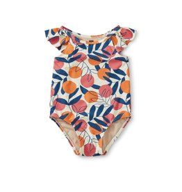 Tea Collection Flutter One-Piece Swimsuit Spring Citrus