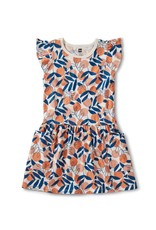 Tea Collection Pocket Dress Spring Citrus