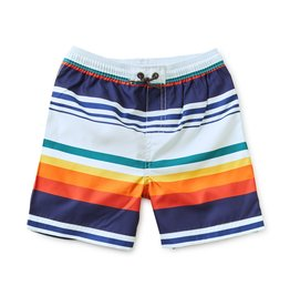 Tea Collection Mid-Length Swim Trunk Cairo Stripe