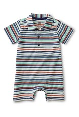 Tea Collection Birch Polo Romper