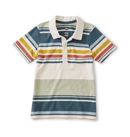 Tea Collection Desert Sage Striped Polo