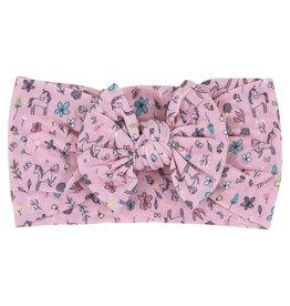 Mila & Rose Fairytale Nylon Bow Headwrap