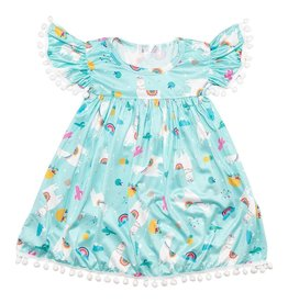 Mila & Rose Llama Pom Pom Dress