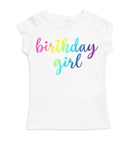Sweet Wink Magical Birthday Girl SS Shirt White