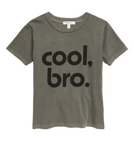 Joah Love Enzo Cool Bro Print Tee Olive