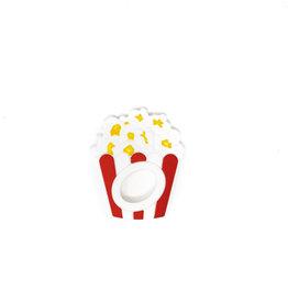 Three Hearts Popcorn Silicone Teether